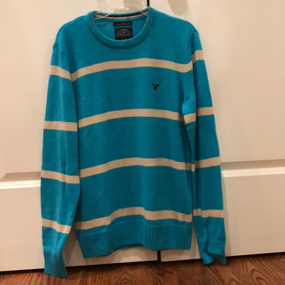 American Eagle Outfitters Sweaters Nwt American Eagle Men Blue